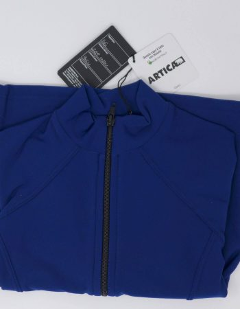 SAGESTER - Hand-made in Italy / Close-fitting Jacket for Figure Skating, Ice Skating / Thermal Fabric / for MEN / for Practice / Style: 249 / Size: 36 / Color: Blue