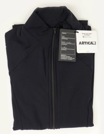 SAGESTER - Hand-made in Italy / Close-fitting Jacket for Figure Skating, Ice Skating / Thermal Fabric / for MEN / for Practice / Style: 249 / Size: 36 / Color: Black
