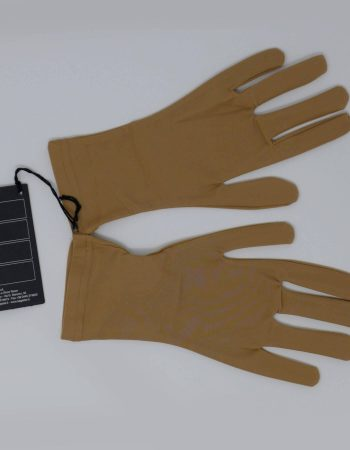 SAGESTER - Hand-made in Italy / Gloves for Figure Skating, Ice Skating, Roller Skating / Skin Color / Fabric: Microfibra / Style: 523 / Size: XS / Color: Nude